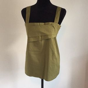 Olive tank top